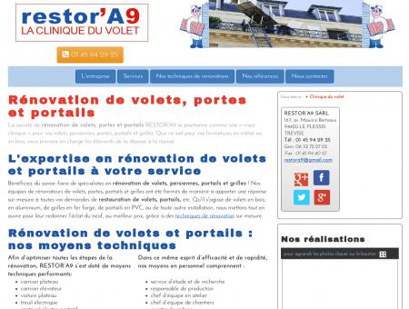 Rénovation de volets, portes, portails en Ile-de...
