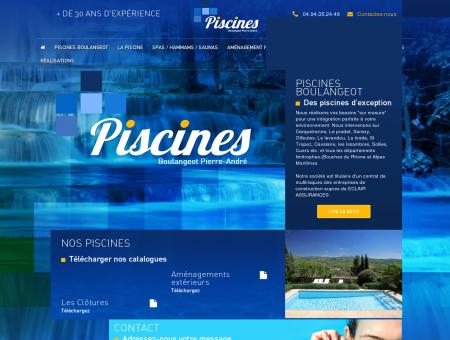 Piscines Boulangeot construction rénovation de...