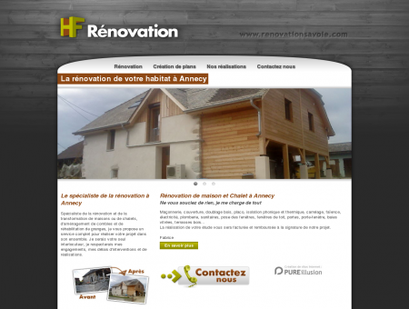 HF Rénovation - Rénovation et construction de...