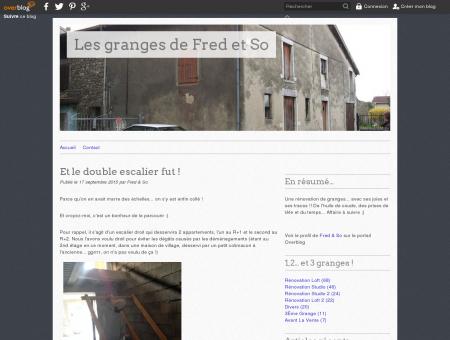 Les granges de Fred et So - Une rénovation de...