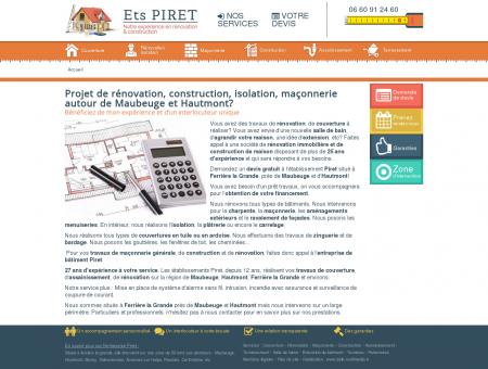 Rénovation à Hautmont et Maubeuge - Piret