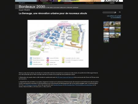 La Benauge, une rénovation urbaine pour de...