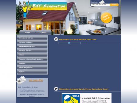 Rénovation maison à Saint Omer  Entreprise...