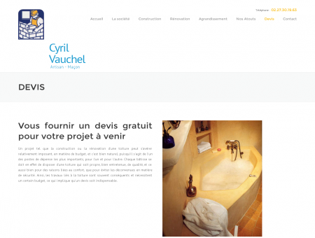 Devis construction fecamp, Vauchel Cyril 76,...