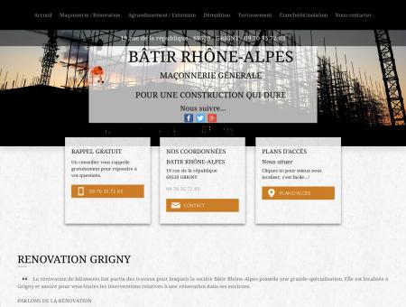 renovation Grigny - BATIR RHÔNE-ALPES