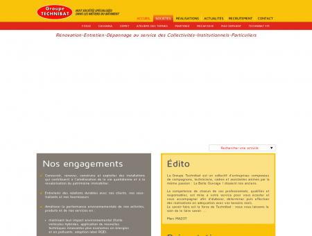 Groupe TECHNIBAT | Huit sociétés spécialisées...