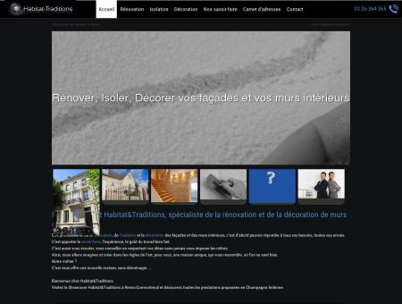 Rénovation, décoration et isolation de façades...
