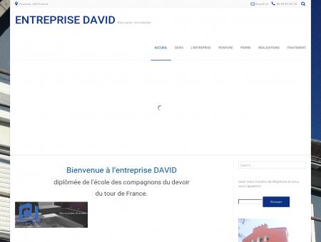 Rénovation immobilière - Entreprise DAVID