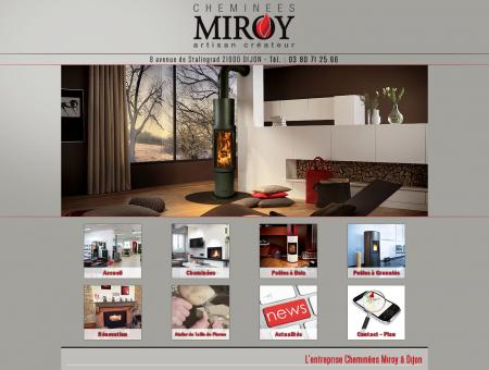 L'entreprise Cheminées Miroy à Dijon, vente ...