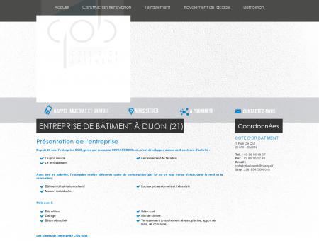 Maconnerie Dijon - COTE D'OR BATIMENT :...
