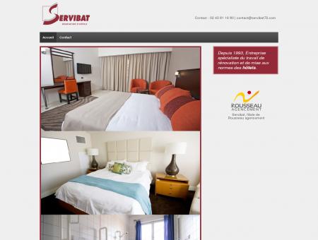 Rénovation d'hôtels » Servibat