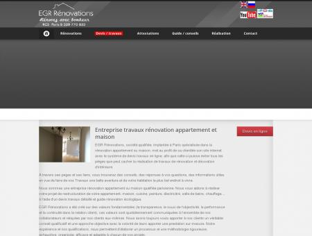 EGR Rénovations - Entreprise rénovation...