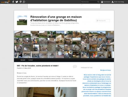 Rénovation d'une grange en maison...