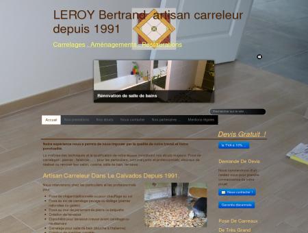 Bertrand LEROY artisan de vos travaux neuf &...