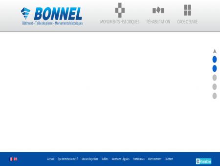 Bonnel, entreprise générale de maçonnerie -...