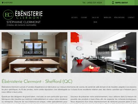 Armoire de cuisine Bromont - Ebénisterie...