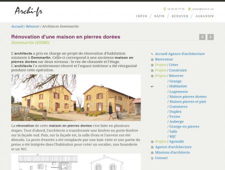 Architecte Dommartin