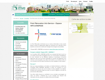 Point Rénovation Info-Service - Espace...