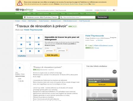 Travaux de rénovation à prévoir - Avis de...