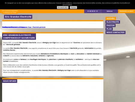 Eric Grandon Electricité - Électricité - Brétigny...