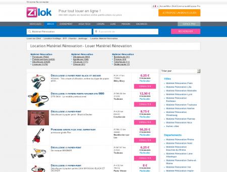 Zilok - Location Matériel Rénovation - Louer...