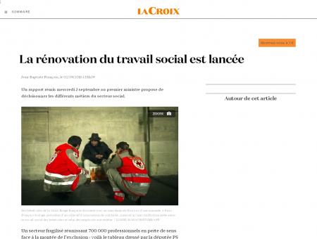 La rénovation du travail social est lancée | La...