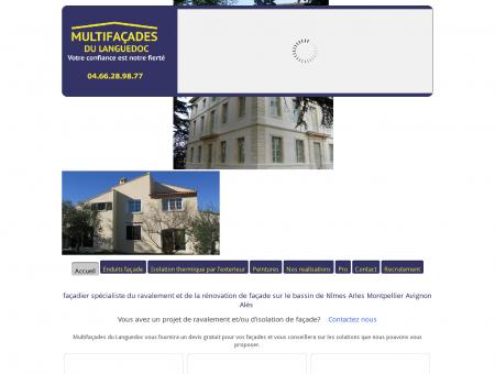 Multi-façades du languedoc - façadier sur...