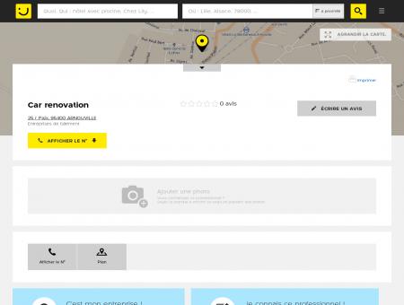 Car renovation Arnouville (adresse) -...