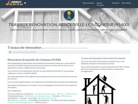 Travaux Renovation, Arnouville-lès-Gonesse...