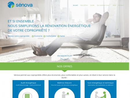 Sénova Copropriétés : Audit énergétique -...