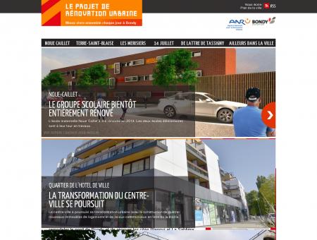 Projet de rénovation urbaine - ville de Bondy
