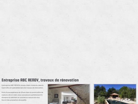 couvreur Saint-Ambroix - ABC RENOV : maçon,...