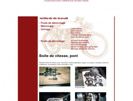 Boite de vitesse et pont - Renovation-Moteurs...