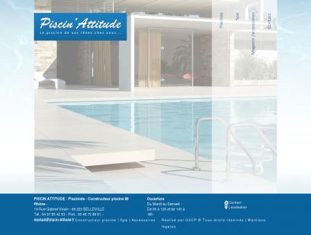 Pisciniste 69 - Constructeur piscine Belleville ...