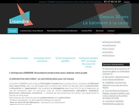 Entreprise LISANDRE Rénovation /...