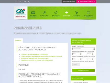 Assurance Auto - Crédit Agricole - Banque et...