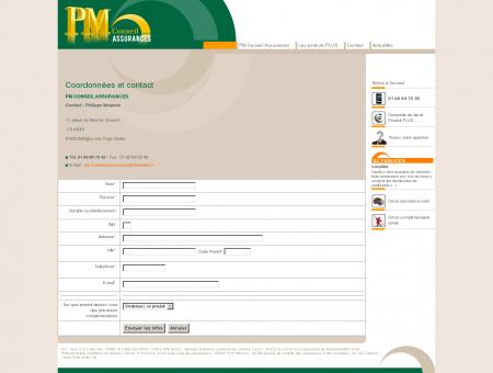Coordonnées et contact - PM conseil...