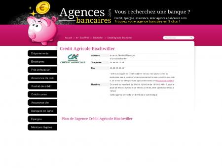 Crédit Agricole Bischwiller - Agences...