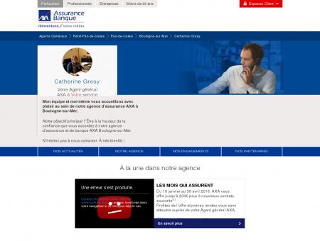 Agence Assurance Boulogne-sur-Mer 62200 -...
