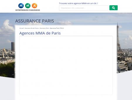 Assurance Paris  trouvez votre agence MMA à...
