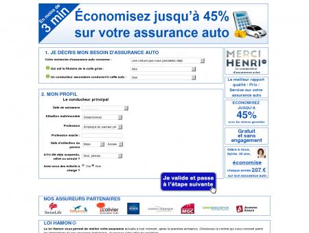 Estimation Assurance Auto   LeComparateurAssurance.com