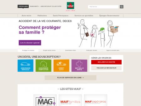 MAIF Assurance   Maif.fr