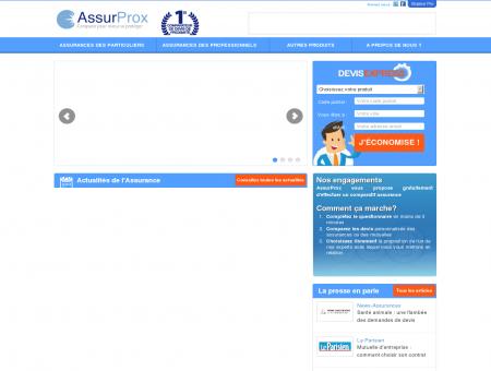 Comparateur assurance avec AssurProx -...