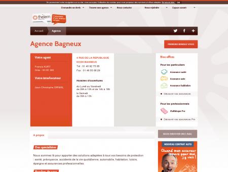 Votre agence Thélem assurances Bagneux...