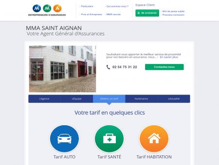 Assurances MMA - SAINT AIGNAN - COUETTE...