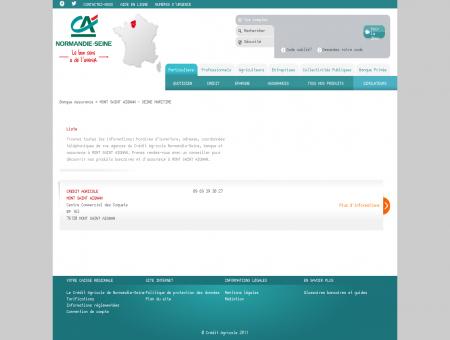 Banque et Assurance MONT SAINT AIGNAN -...