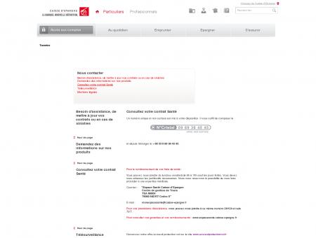 Espace assurance - Caisse d'Epargne
