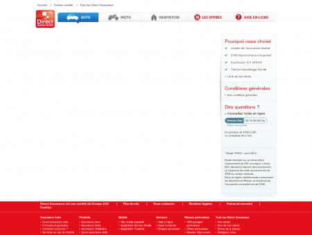 Devis Assurance Auto  Direct Assurance