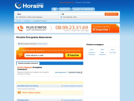 Horaire Groupama Assurance - Horaires des...