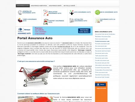 Portail Assurance Auto